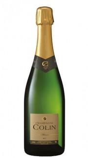 """""""Cuvée Alliance"""" Champagne AOC Brut champagne COLIN 3 Lt Box di Legno"""