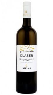 """KLASER Salamander"" Pinot Bianco Alto Adige Riserva Doc Weingut Niklas 2016"