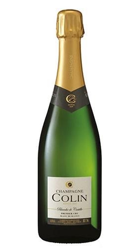 """Blanche de Castille 1er Cru"" Champagne Aoc Brut champagne COLIN 1.5 Lt"