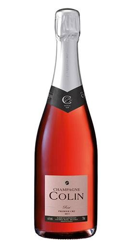 Champagne AOC Brut Rosé 1er Cru champagne COLIN