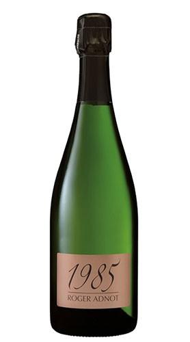 """Cuvée Roger Adnot 1er Cru"" Champagne AOC Millesime Extra Brut champagne COLIN 1985 con Confezione"