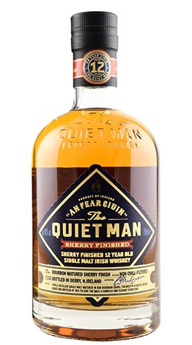 Whisky The Quiet Man 12 Year Old Sherry Finish Single Malt 70 cl