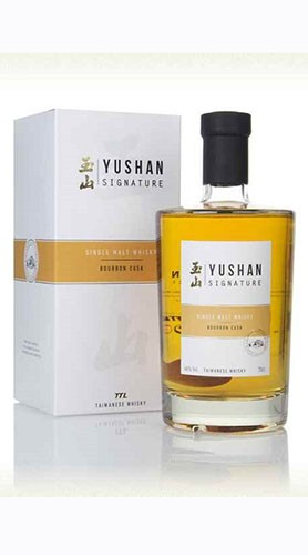 Whisky Signatre Bourbon Cask WHISKY YUSHAN 70 Cl con Confezione