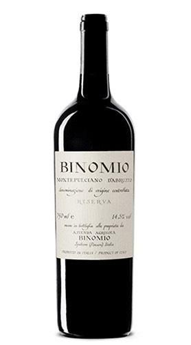 """""""Binomio"""" Montepulciano d'Abruzzo Riserva DOC La Valentina 2014"""