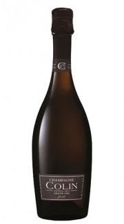 """""""Cuvée Grand Cru"""" Champagne AOC Brut Millesime Blanc de Blancs champagne COLIN 2010"""