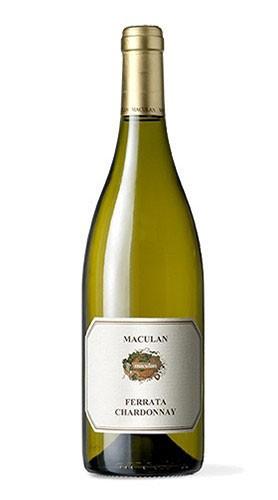 """Veneto Chardonnay IGT """"Ferrata"""" Maculan 2016 75 Cl"""