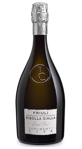 Ribolla Gialla Biele Zoe Spumante DOC Friuli Extra Brut Tenimenti Civa