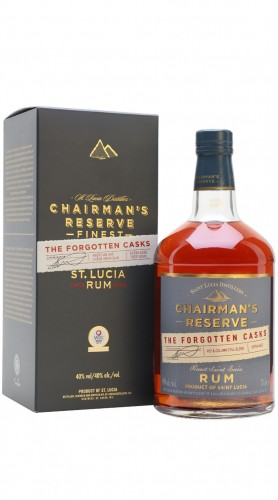 "Rum ""Chairman's Reserve The Forgotten Casks"" Saint Lucia Distillers 70 cl Astucciato"