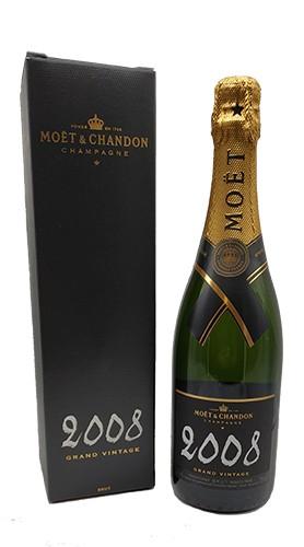 """Grand Vintage"" Champagne Brut Moet & Chandon 2008 con Confezione"