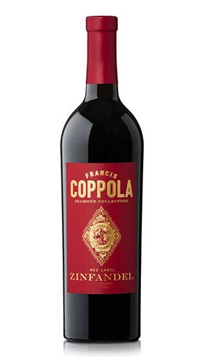 """""""Zinfandel"""" California Diamond Collection Red Label Francis Ford Coppola Winery 2017"""