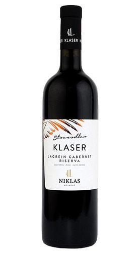 """KLASER Stoanadler"" Lagrein Cabernet Alto Adige Riserva DOC Weingut Niklas 2017"