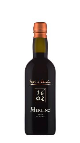 """""""Merlino 1602"""" Rosso fortificato Pojer e Sandri 50 Cl"""