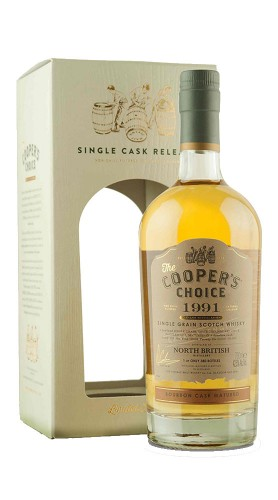 The Vintage Malt Whisky Company NORTH BRITISH 1991 42,5? Coopers Choice