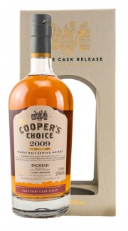 """Whisky Coopers Choice """"Inchfad"""" The Vintage Malt Whisky Company 2009 70cl"""
