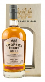 The Vintage Malt Whisky Company GLEN ORD 2011 54? Coopers Choice