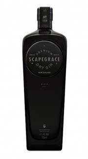 "Dry Gin ""BLACK"" SCAPEGRACE 70 cl"