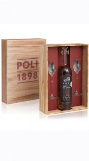 Poli Jacopo Confezione Legno N. 1 Bassano 24 Caratii + 2 bicchieri degustazione
