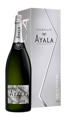 AYALA champagne CHAMP.AYALA BRUT NATURE SILVER EDITION JEROBOAM