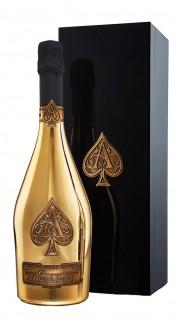 Champagne Gold Brut Armand de Brignac con confezione