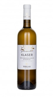 """KLASER Salamander"" Pinot Bianco Alto Adige Riserva Doc Weingut Niklas 2017"