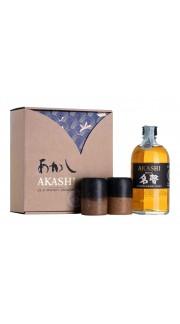 Whisky Meisei 'Akashi' White Oak Distillery - Akashi 50 Cl con astuccio e 2 bicchieri