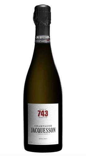 """""""Cuvée 743"""" Extra Brut Champagne AOC Jacquesson"""