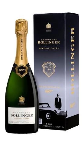 """Special Cuvée"" 007 Champagne AOC Bollinger Astucciato"