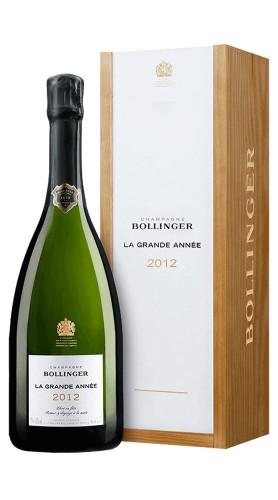 """""""La Grande Année"""" Champagne AOC Bollinger 2012 Astucciata"""