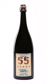 """Celebrating 55"" Vino Spumante di Qualità Metodo Classico Brut DIESEL FARM 2015 1.5 Lt"