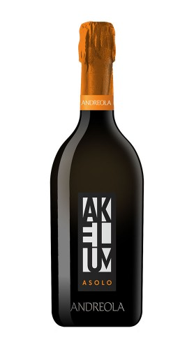"""Akelum"" Asolo Prosecco Superiore DOCG Spumante Extra Dry Andreola"