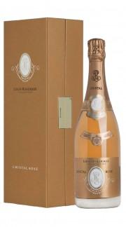 """""""Cristal"""" Champagne AOC Brut Rosè Roederer 2012 con confezione"""