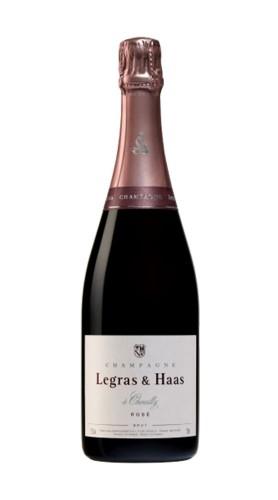 Champagne Rosè Brut Legras & Hass