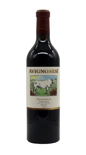 """""""Desiderio"""" IGT Toscana Rosso Biologico Avignonesi 2016"""