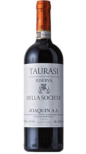 """Taurasi Riserva DOCG """"Della Società"""" Confezione di Legno da 6 Bottiglie JOAQUIN 2014"""
