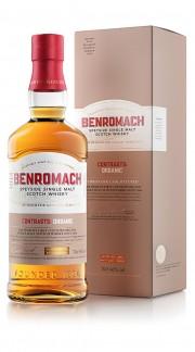 """Whisky Single Malt """"Organic"""" Benromach 2012 70 Cl con Confezione"""