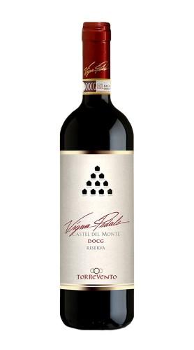 """""""Vigna Pedale"""" Castel del Monte DOCG Riserva Torrevento 2015"""