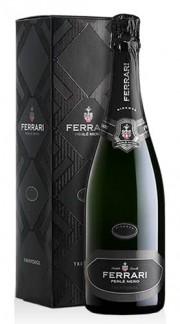 """""""Perlé Nero"""" Spumante Trento DOC Brut Millesimato Ferrari 2012 con Confezione"""
