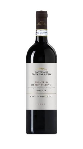 Brunello di Montalcino DOCG/DOP Riserva 'Franco Ambrosino' Cantina di Montalcino 2012