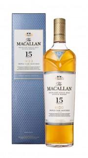 "Whisky ""Triple Cask Matured 15YO"" Single Malt Macallan"