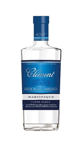 "Rhum Blanc Agricole ""Canne Bleue"" Clément Rhum 70 Cl"