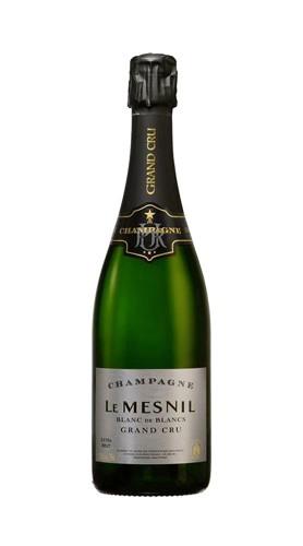 Champagne Extra Brut Blanc de Blancs Grand Cru Le Mesnil