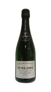 Champagne Brut Sublime Blanc de Blancs Grand Cru Le Mesnil 2012