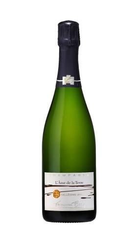 """""""L'ame de la Terre"""" Champagne Brut Millesime Francoise Bedel 2006"""