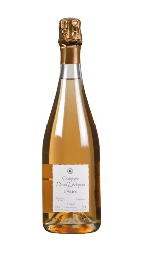 """""""L'Astre"""" Champagne Blanc de Noirs Premier Cru David Leclapart 2014"""