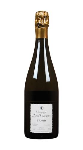 """L'Artiste"" Champagne Blanc de Blancs Premier Cru David Leclapart 2010"