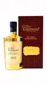 Clément Rhum TRES VIEUX RHUM 2002 GOLD LEAF