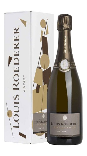 """""""Vintage"""" Champagne Brut Millèsimè Roederer 2012 con confezione"""