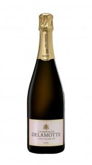 Champagne Brut Rosè Delamotte con confezione