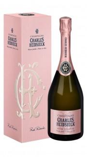 Champagne Brut Rosè Reserve Charles Heidsieck con confezione