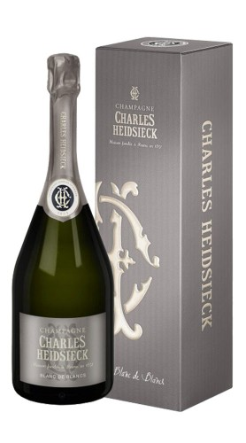 Champagne Brut Blanc de blancs Charles Heidsieck con confezione